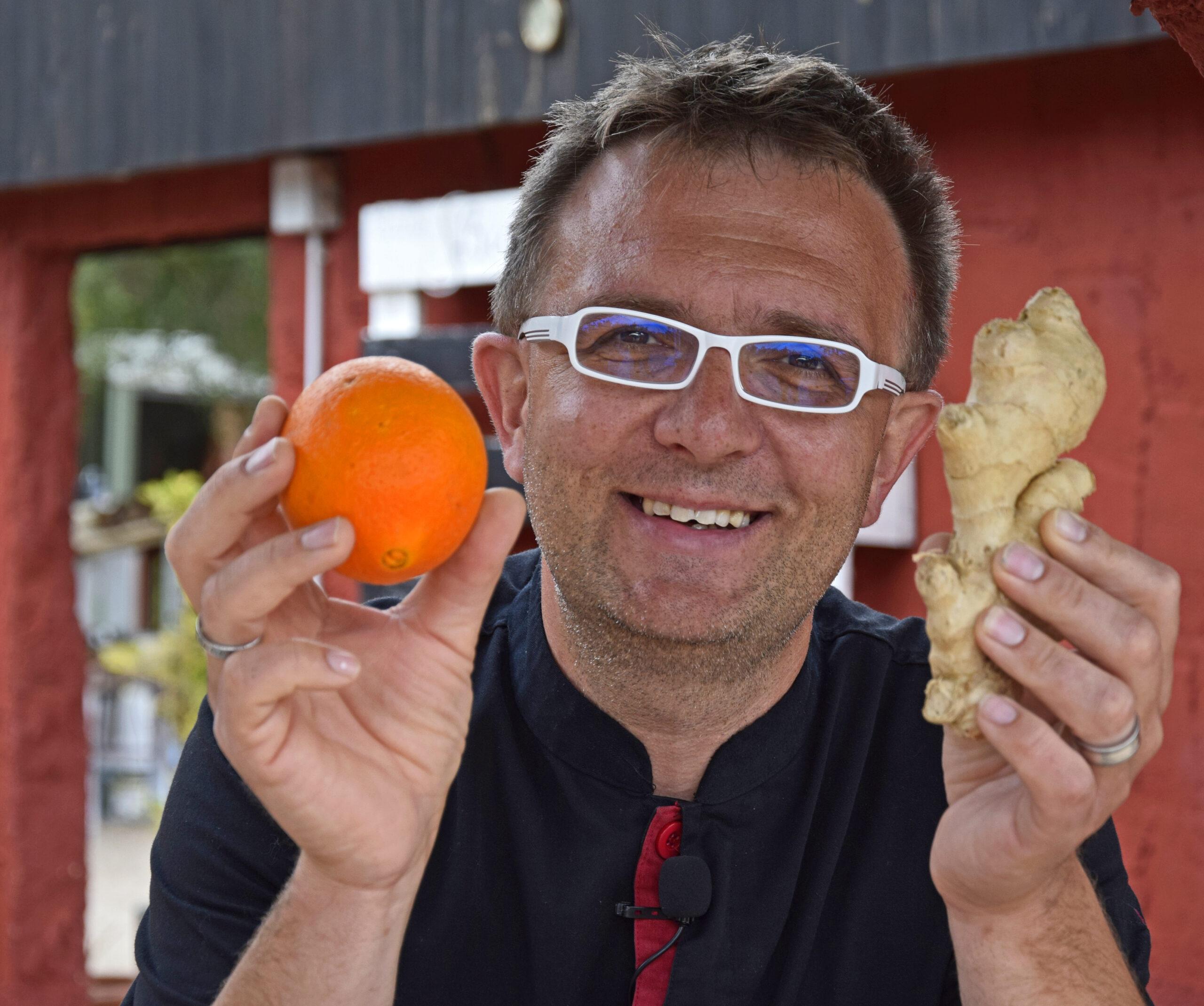 Jens Orange Ingwer